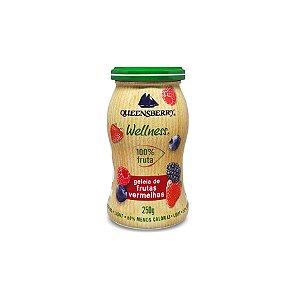 Geleia de Frutas Vermelhas 100% Frutas 250g