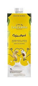 Bebida Vegetal de Castanha de Caju e Castanha do Pará Orgânico 1L