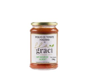 Molho de Tomate Artesanal Minizinho 198g