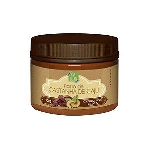 Pasta de Castanha de Caju Chocolate Belga 300g