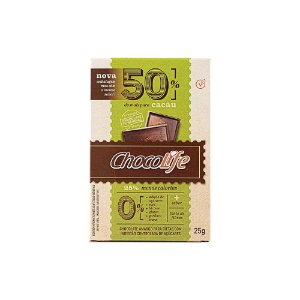 Chocolate 50% cacau 25g