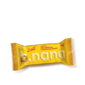 B.nana Amendoim e Chocolate Branco 35g
