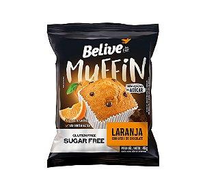 Muffin Laranja com Gotas de Chocolate 40g