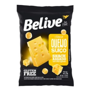 Snack Multigrãos Queijo Suiço 35g