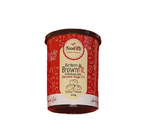 Bombom de Brownfit Chocolate Belga 70% 300g
