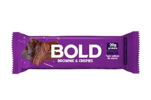 Barra de Proteína Bold Brownie & Crispies 60g