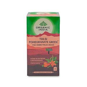 Chá Verde Tulsi e Romã 25 sachês
