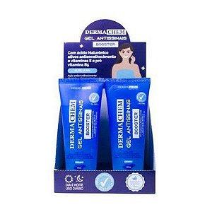 Sabonete Gel Antissinais Booster Ácido Hialurônico Dermachem - Display com 6 Unidades