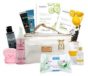 Kit Limpeza De Pele E Cuidados Facial Skincare Profissional