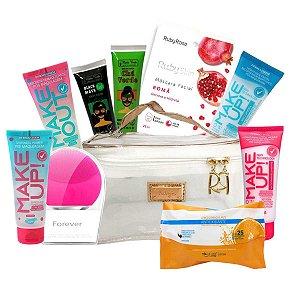 Kit Skincare Limpeza Da Pele E Cuidados Facial Profissional
