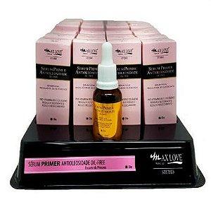 Serum Primer Antioleosidade Oil Free Max Love - Display com 24 Unidades