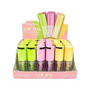 Lip Oil Care Fun Ruby Rose - Box 24 unidades