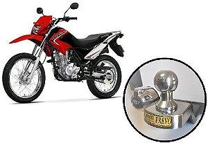 Engate Reboque Rabicho Honda Brós 125cc (todos os modelos).