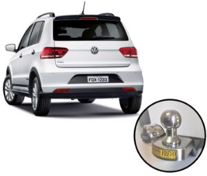 Engate Rabicho Reboque Volkswagen Fox 2010 em diante e Cross Fox até 2009.