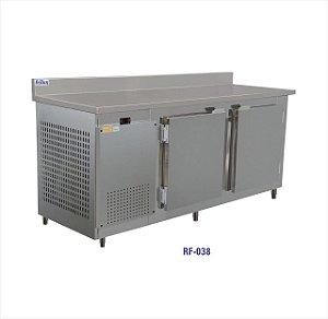 REFRIGERADOR HORIZONTAL FRILUX 190CM RF-038 INOX 220V