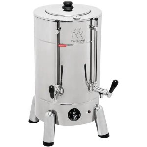 CAFETEIRA TRADICIONAL MARCHESONI COFFEE MAKER INOX 8 LITROS