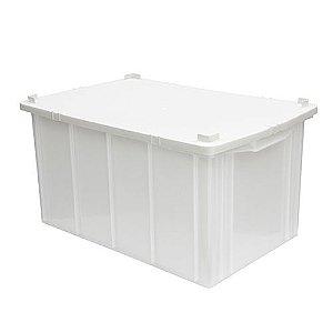 Caixa Plástica Fechada 61L - Mod.1035 - Câmara Fria