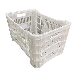 Caixa Plástica Agrícola Vazada 46L - CP31 - Câmara fria