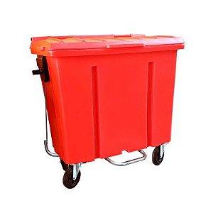 Contêiner de Lixo 1000L Com pedal
