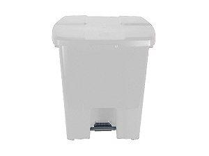 Lixeira plástica quadrada com pedal 30L