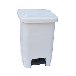 Lixeira plastica retangular 25L