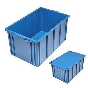 Caixa Plástica Fechada 61L - Mod. 1035
