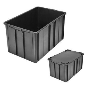 Caixa Plástica Fechada 38L - Mod.1019