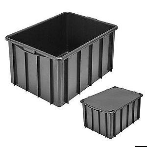 Caixa Plástica Fechada 130L - Mod.1010