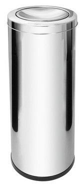 Lixeira Inox com tampa Basculante - 30L