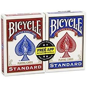Baralho Bicycle Standard Pacote com 2 unidades