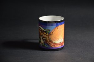 Caneca com moldura Jazz on Hands