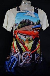 Avental Bike no Ibirapuera