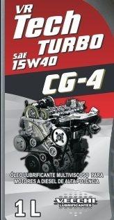 Vr Tech Turbo 15w40 CG-4 Diesel 20l