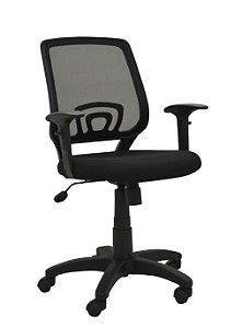 Cadeira Office RV 0202 c/ Braço Ajustável