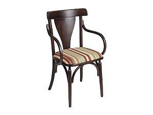 Cadeira Treviso III c/ braço estofada