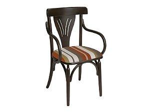 Cadeira MM 211869 c/ Braço estofada