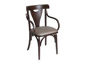 Cadeira Treviso V c/ braço estofada
