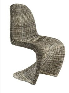 Cadeira Panton Rattan