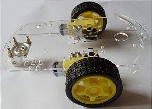 Chassis Carro Robótico 2 rodas