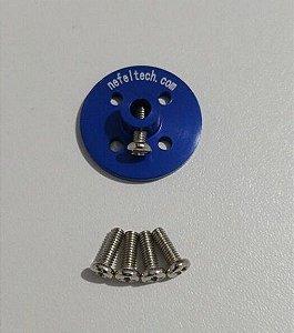 Hub NefelTech - Adaptador p/ roda nefeltech (azul)