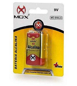 Bateria 9V Alcalina MOX MO-9VALK