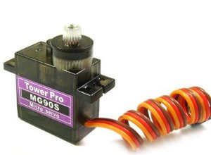 Tower Pro Micro Servo MG90S - engrenagem de metal