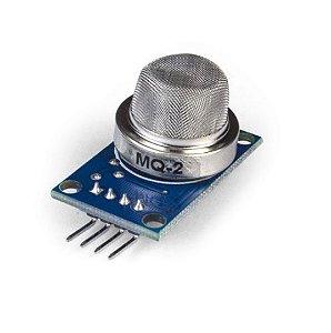Sensor (Detector) de Gás Inflamável e Fumaça – MQ-2