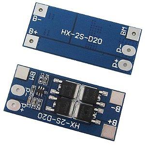 Módulo de proteção para baterias LI-ION 18650