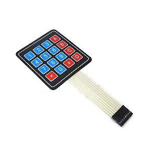 Teclado Membrana (teclado matricial) 4X4