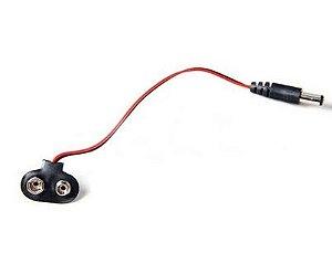 Conector de Bateria 9V com Plug P4