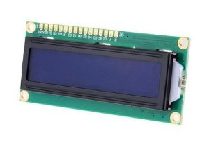 Display LCD 16x2 (backlight azul)