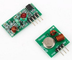 Módulo RF emissor/receptor 433Mhz