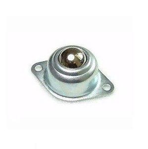 Rodízio com esfera metálica 16mm (roda boba)