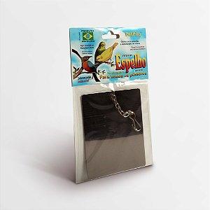 Espelho Inox Grande Pássaros